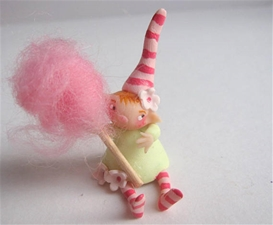 Candy Floss Pixie Festive