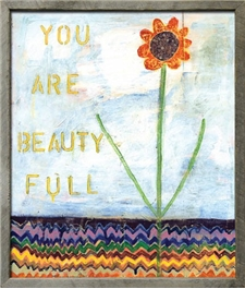 You Are Beauty Full - 25x29