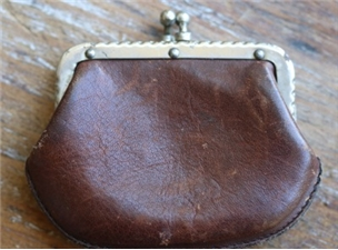 Vintage Leather Coin Purse