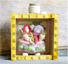 Two Sisters Sewing Fairies - SALE