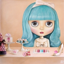 "Sweet Blythe Thoughts – 11.8""x11.8"""