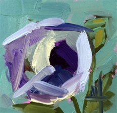 Purple Poppy No.6 – 4x4