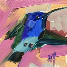 Hummingbird No. 211 – 5x5