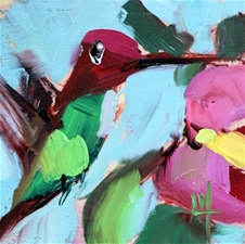 Hummingbird No.242 – 5x5 - SALE