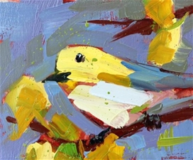 Tennessee Warbler No.148 – 5x6 - SALE