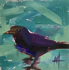 Purple Martin – 6x6 -SALE