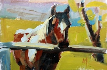 Paint Horse No.2 – 6x8 - SALE