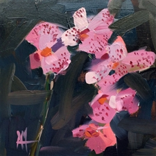 Pink Orchids No. 2 – 8x8