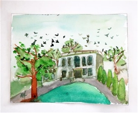 Birds at Gentry Manor – 7.75x10 – SALE