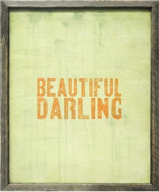 Beautiful Darling 18x22