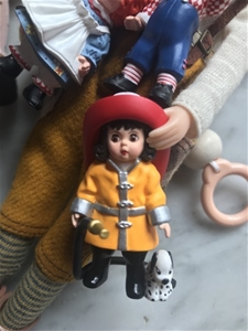 Mini Madame Alexander - VINTAGE - Firefighter Wendy