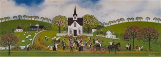 A Country Wedding 5.5x15 - SALE