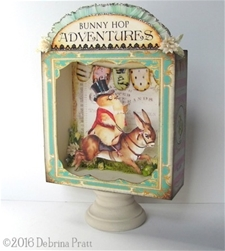 Bunny Hop Adventures Shadowbox