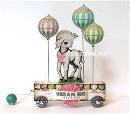 Dream Big Little One Pull Toy