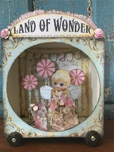 Her Land of Wonder Doll Shadowbox