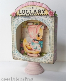Sing Me a Lullaby Shadowbox