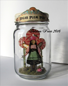 Sugar Plum Pixie Jar