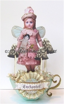 A Very Enchanted Doll Tea Cup