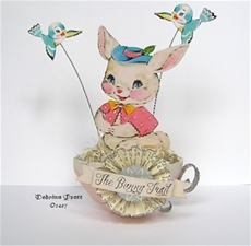 The Bunny Trail Tea Cup