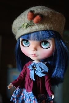 Autumn Berry Beret