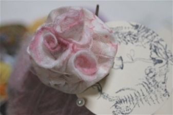 Happy Brooch - Tiered Roses Brooch with Clip
