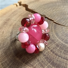 """Findings"" Pink Bling Ring - SALE"