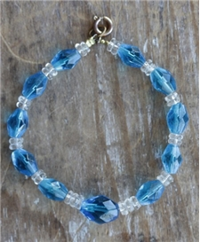 The Blues Glass Bracelet