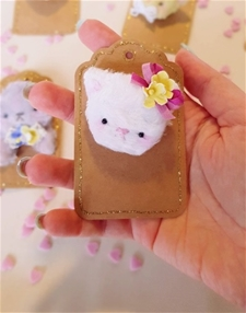 Kitty Cute - Brooch #3 - SALE