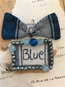 Blue Brooch - SALE