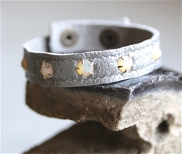 Stacker Cuff Bling Sky & Clouds
