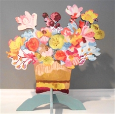 Love Is Flowers - 14x12 - With Stand