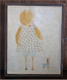 Ducky Dear & Her Friend 8.5x10.5 - SALE