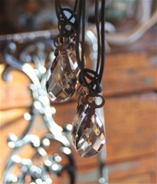 Chandelier Pendant Black & Diamond
