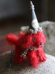 Red Velvet Parisienne Party Pup - PROMO PRICE