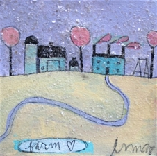 A Farm to Love - 6x6 - SALE