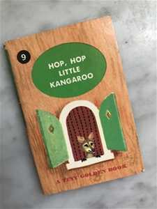 ...Little Kangaroo - Vintage Mini Book