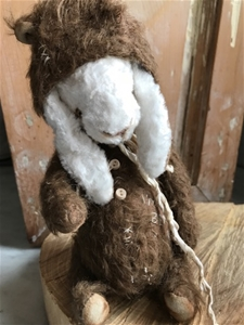 I'm a Bear - OOAK Soft Sculpture