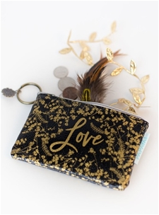 Gilded Flowers – Coin Purse