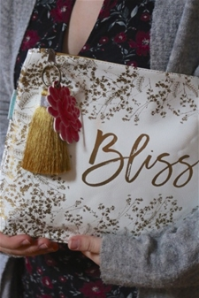 Bliss – Large Tassel Pouch