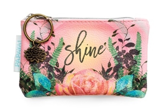 Natural Rose Coin Purse - SALE