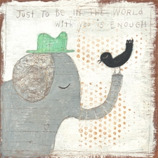 In the World with You - 12x12