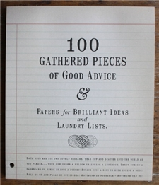 100 Gathered Pieces of - Good Advice