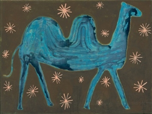 Camel In the Stars - 24x36