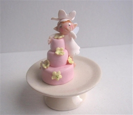 Cake Fairy Set - Berry Pink Frosting Fairy