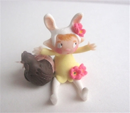Bunny Fairy & Candy Chick - Yellow