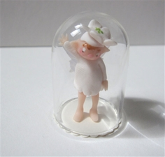 Tiny Globe - White Flower Fairy