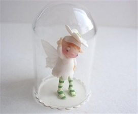Tiny Globe - Winter White Pixie