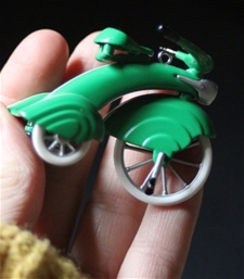 Mini Green Fun Trike - Vintage - SALE