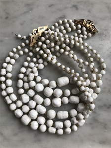 Milk Glass Magic Collar - SALE