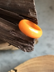Vintage Bakelite Orange Ring